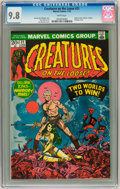 Bronze Age (1970-1979):Horror, Creatures on the Loose #21 (Marvel, 1973) CGC NM/MT 9.8 Whitepages....