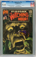 Bronze Age (1970-1979):Horror, The Witching Hour #13 (DC, 1971) CGC NM 9.4 Off-white to whitepages....