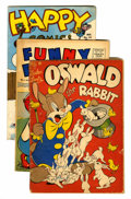 Golden Age (1938-1955):Funny Animal, Miscellaneous Golden Age Funny Animal Group (Various Publishers,1940s-50s).... (Total: 12 Comic Books)