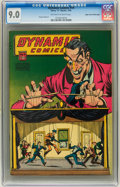 Golden Age (1938-1955):Horror, Dynamic Comics #19 Mile High pedigree (Chesler, 1946) CGC VF/NM 9.0Off-white to white pages....