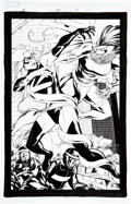 Original Comic Art:Splash Pages, Mike McKone, Andy Lanning, Kris Justice, and Cam Smith FantasticFour #538 Splash page 9 Original Art (Marvel, 200...