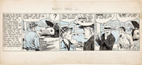 Frank Godwin Rusty Ryan Daily Comic Strip #A-1 Original Art (King Features Syndicate, undated)