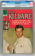 Silver Age (1956-1969):Adventure, Dr. Kildare #3 File Copy (Dell, 1962) CGC NM 9.4 Cream to off-white pages....