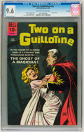 Silver Age (1956-1969):Horror, Movie Classics: Two On a Guillotine #nn File Copy (Dell, 1965) CGCNM+ 9.6 Off-white to white pages....