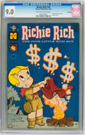 Silver Age (1956-1969):Humor, Richie Rich #10 File Copy (Harvey, 1962) CGC VF/NM 9.0 Cream to off-white pages....