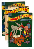 Golden Age (1938-1955):Cartoon Character, Looney Tunes and Merrie Melodies Comics File Copy Group (Dell,1954-58) Condition: Average VF+.... (Total: 8 Comic Books)