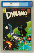 Silver Age (1956-1969):Superhero, Dynamo #3 (Tower, 1967) CGC VF+ 8.5 Off-white pages....