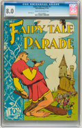 Golden Age (1938-1955):Funny Animal, Fairy Tale Parade #1 (Dell, 1942) CGC VF 8.0 Cream to off-whitepages....