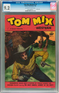Golden Age (1938-1955):Western, Tom Mix Western #7 (Fawcett, 1948) CGC NM- 9.2 Off-white to whitepages....