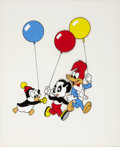 Animation Art:Limited Edition Cel, Woody Woodpecker & Friends Party Pals Limited EditionSerigraph Cel (Walter Lantz Productions, 1996)....