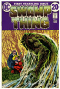 Bronze Age (1970-1979):Horror, Swamp Thing #1 Western Penn pedigree (DC, 1972) Condition:VF/NM....