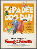 "Movie Posters:Animated, Song of the South (Buena Vista, R-1980). Poster (30"" X 40"").Animated.. ..."