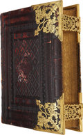 Books:Fiction, The Holy Bible: Containing the Old and NewTestaments. London: Samuel Bagster and Sons, [n.d., ca. 1855].Quarto. 13...