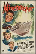 "Movie Posters:War, Minesweeper (Paramount, 1943). One Sheet (27"" X 41""). War.. ..."
