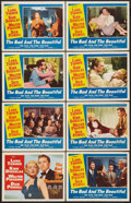 "Movie Posters:Drama, The Bad and the Beautiful (MGM, 1953). Lobby Card Set of 8 (11"" X14""). Drama.. ... (Total: 8 Items)"