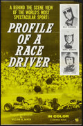 """Movie Posters:Sports, Profile of a Race Driver (Universal, 1960s). One Sheet (27"""" X 41""""). Sports.. ..."""