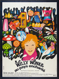 """Willy Wonka & the Chocolate Factory (Paramount, 1971). French Grande (45.5"""" X 62""""). Fantasy"""