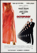 "Movie Posters:James Bond, Octopussy (MGM/UA, 1983). Swedish One Sheet (27.5"" X 39.5"")Advance. James Bond.. ..."