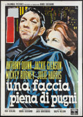 "Movie Posters:Sports, Requiem for a Heavyweight (Columbia, 1962). Italian 4 - Foglio (55"" X 79""). Sports.. ..."