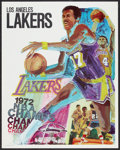 """Movie Posters:Sports, L.A. Lakers Basketball Lot (L.A. Lakers, 1970-1972). Posters (3) (23"""" X 29"""" and 22.5"""" X 35""""). Sports.. ... (Total: 3 Items)"""
