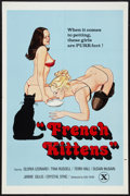 """Movie Posters:Adult, French Kittens (Gail Films, 1970s). One Sheet (27"""" X 41""""). Adult.. ..."""