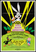 "Movie Posters:Animated, Bugs Bunny Superstar (Hare Raising Films, 1975). One Sheet (24.75""X 36.25""). Animated.. ..."