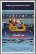 """Movie Posters:Fantasy, Here Comes Santa Claus (New World, 1984). One Sheet (27"""" X 41""""). Fantasy.. ..."""