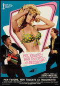 "Movie Posters:Comedy, The Producers (Avco Embassy, 1969). Italian Foglio (26"" X 37""). Comedy.. ..."