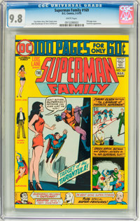 The Superman Family #169 (DC, 1975) CGC NM/MT 9.8 White pages
