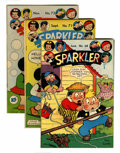 Golden Age (1938-1955):Miscellaneous, Sparkler Comics Group - Rockford pedigree (United Features Syndicate, 1947-48).... (Total: 8 Comic Books)