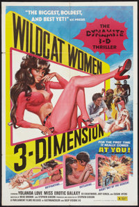 "Black Lolita (Parliament, 1975). One Sheet (27"" X 41"") 3-D Style. Blaxploitation. Also issued as Wildcat Women..."