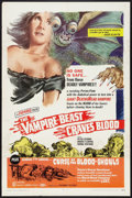 """Movie Posters:Horror, The Vampire-Beast Craves Blood/Curse of the Blood-Ghouls (Pacemaker, R-1969). One Sheet (27"""" X 41""""). Horror.. ..."""