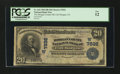 National Bank Notes:Colorado, Fort Morgan, CO - $20 1902 Date Back Fr. 643 The Morgan County NBCh. # (W)7832. ...