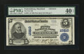 National Bank Notes:Maryland, Federalsburg, MD - $5 1902 Plain Back Fr. 602 The First NB Ch. #10210. ...