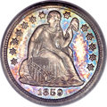 Proof Seated Dimes, 1859 10C PR65 Cameo PCGS....