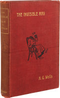 Books:First Editions, H. G. Wells. The Invisible Man, A Grotesque Romance.London: C. Arthur Pearson Limited, 1897.. First e...