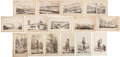 Antiques:Posters & Prints, Fifteen Engraved Illustrations From the U.S. Navy Expedition to theAmazon Valley Circa 1854.... (Total: 15 Items)