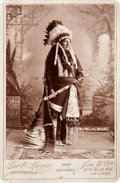 American Indian Art:Photographs, NO NECK. c. 1891...