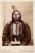 American Indian Art:Photographs, KILLS A CROW CHIEF. c. 1880...