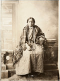 American Indian Art:Photographs, PRETTY LITTLE BIRD. c. 1883...