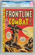 Golden Age (1938-1955):War, Frontline Combat #4 (EC, 1952) CGC VF+ 8.5 Off-white to whitepages....