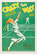 "Movie Posters:Comedy, Crazy That Way (Fox, 1930). One Sheet (27"" X 41"").. ..."