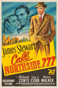 "Movie Posters:Film Noir, Call Northside 777 (20th Century Fox, 1948). One Sheet (27"" X41"").. ..."