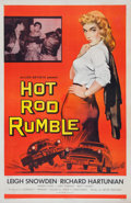 "Movie Posters:Exploitation, Hot Rod Rumble (Allied Artists, 1957). One Sheet (27"" X 41"").. ..."