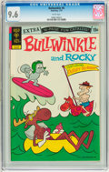 Bronze Age (1970-1979):Cartoon Character, Bullwinkle #6 (Gold Key, 1973) CGC NM+ 9.6 White pages....