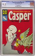 Golden Age (1938-1955):Humor, Casper the Friendly Ghost #27 File Copy (Harvey, 1954) CGC NM- 9.2 Cream to off-white pages....