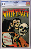 Golden Age (1938-1955):Horror, Witchcraft #6 Aurora pedigree (Avon, 1953) CGC FN/VF 7.0 Cream tooff-white pages....