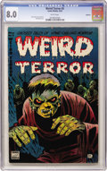 Golden Age (1938-1955):Horror, Weird Terror #5 Spokane pedigree (Comic Media, 1953) CGC VF 8.0White pages....