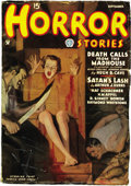 Pulps:Miscellaneous, Horror Stories Group (Popular, 1935-41) Condition: Average GD/VG.... (Total: 6 Comic Books)