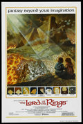 "Movie Posters:Animated, The Lord of the Rings (United Artists, 1978). International OneSheet (27"" X 41""). Animated. Starring John Hurt, Christopher..."